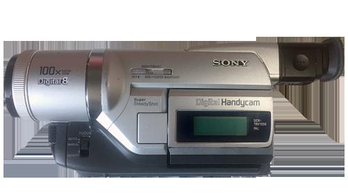 Camescope vidéo Digital8