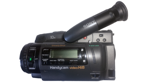 Camescope vidéo Hi8 ou Video8