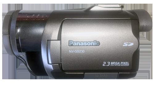 Camescope vidéo MiniDv