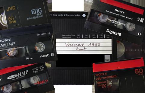 vhs, vhsc, minidv, digital8, hi8, video8