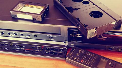 magnetocope pour transfert de cassette vhs-c et vhs