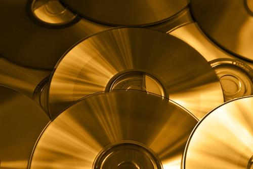 rondelles de dvd