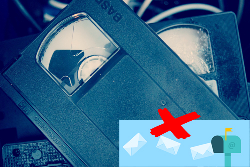 envoi de cassette par la poste