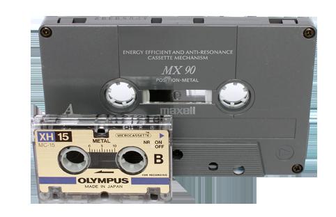 Taille micro cassette