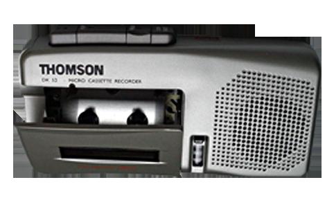 magnétophone micro cassette pour numérisation