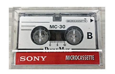 micro cassette mc30 pour transfert de micro cassette